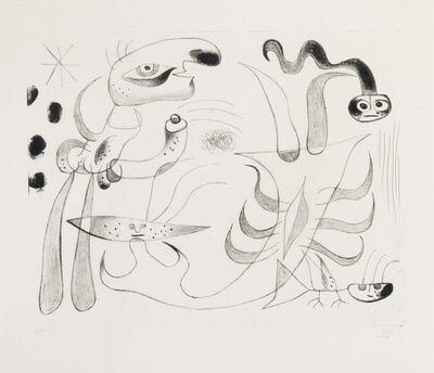 Joan Miró, 'Barcelona XLIII, from Barcelona Series', 1944