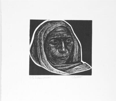 Elizabeth Catlett, 'Indian Woman', 1958