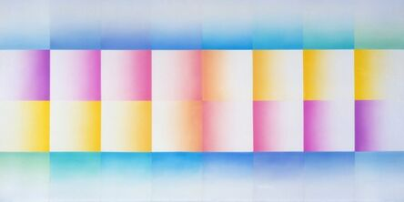 Judy Chicago, 'Morning Fan, from Fresno Fans', 1971