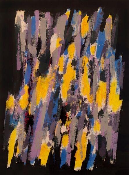 William Gear, 'Yellow Pastoral', 1962