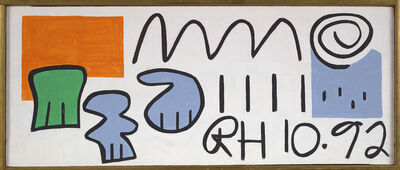 Raymond Hendler, 'RH 10.92', 1992
