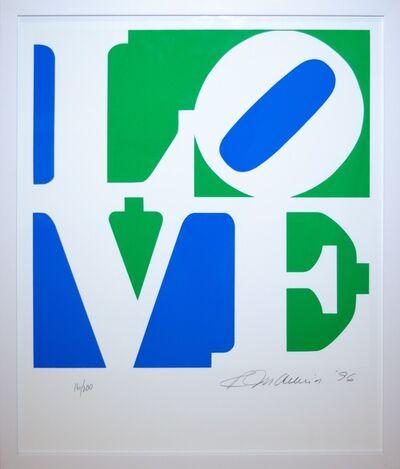 Robert Indiana, 'The Book of Love 3', 1997