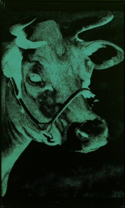 Andy Warhol, 'One Green Cow', 1979