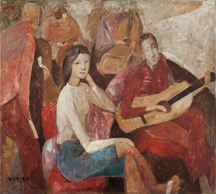 Huang Rui 黄锐, 'The Guitar's Story', 1979