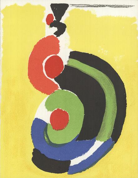 "Sonia Delaunay, 'Sonia Delaunay - Composition - 1972 Lithograph 12.25"" x 9.5""', 1972"