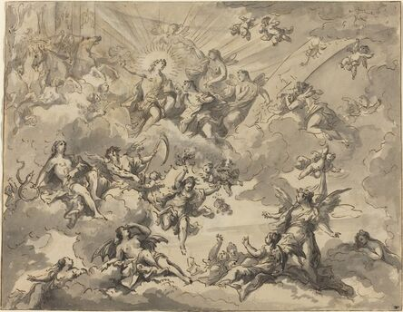 Giuseppe Valeriani, 'Apollo and the Muses'
