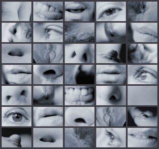 Carolee Schneemann, 'Portrait Partials', 1970/2007