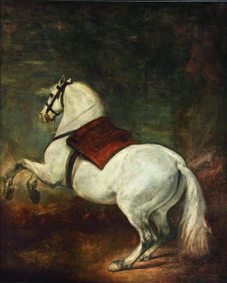 Diego Velázquez, 'Caballo blanco', ca. 1650