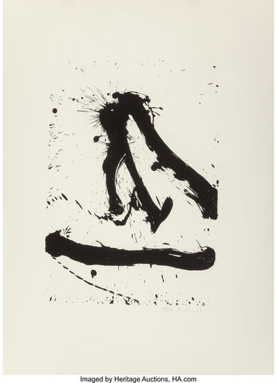 Robert Motherwell, 'Untitled (from Beside the Sea series)', 1966