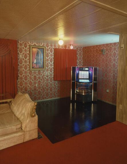 Timothy Hursley, 'Dance Floor, Chicken Ranch, Pahrump, Nevada', 1986