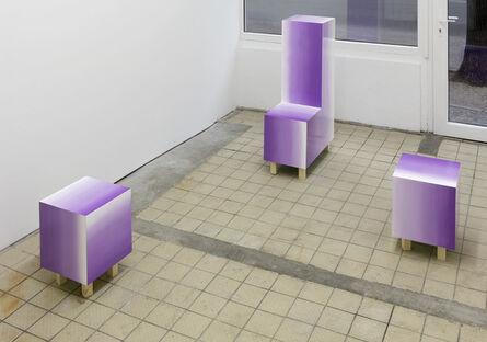 Charlotte Herzig, 'L and Cubes', 2016