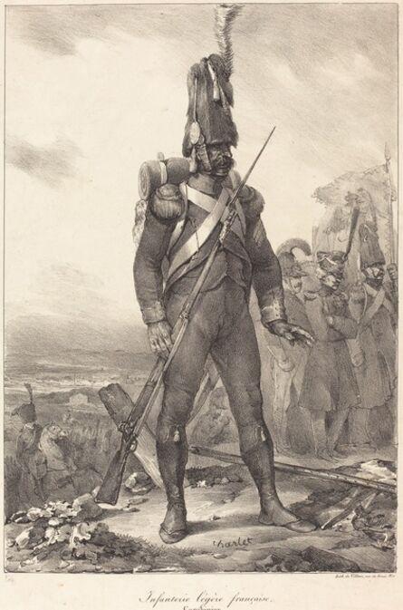 Nicolas-Toussaint Charlet, 'Infanterie legère française, Carabinier', 1822