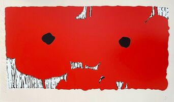 Donald Sultan, 'Red Poppies ', 2012