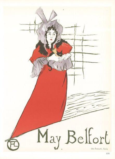 Henri de Toulouse-Lautrec, 'May Belfort', 1966