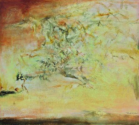Zao Wou-Ki 趙無極, '04.09.96', 4 Sept 96