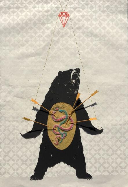 Kathryn Hunter, 'Abduction 1', 2017