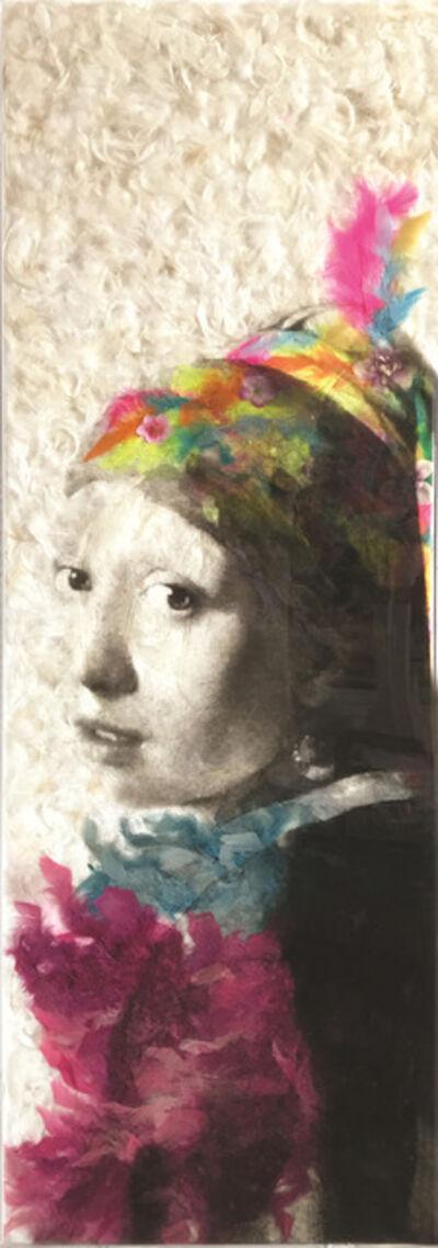 Daniel Gastaud, 'A Girl with a pearl earring ', 2016