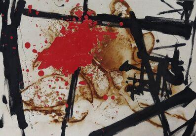 Ben Allanoff, 'Red Spalt', 2020