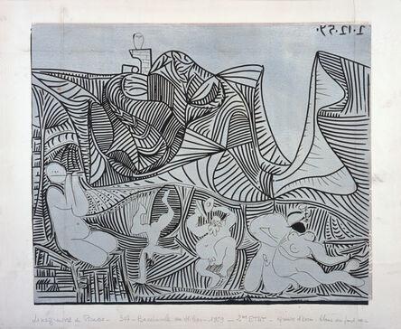 Pablo Picasso, 'Bacchanale au Hibou', 1959