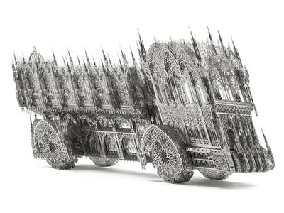 Wim Delvoye, 'Slanted Dump Truck', 2012