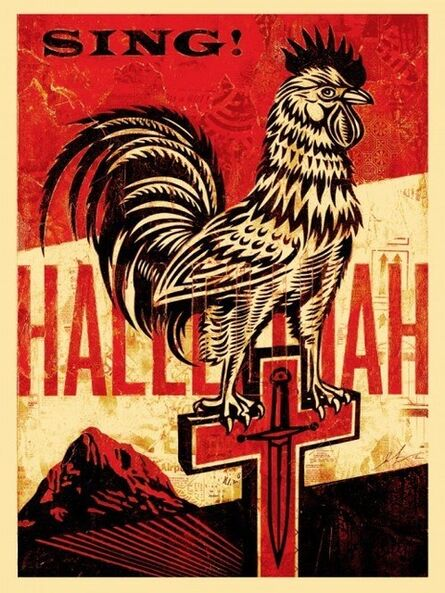 Shepard Fairey, 'Americana Box Set: Jesus' Chariot', 2012