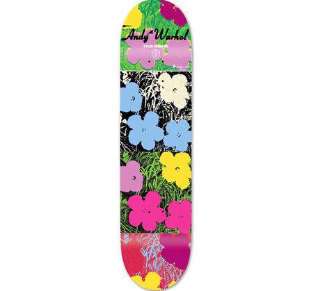 Andy Warhol, 'Andy Warhol Flowers Skateboard Deck', ca. 2010