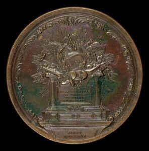 Georg Christian Waechter, 'Altar of Fame [reverse]', 1770