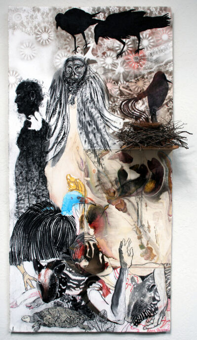 Anne Gregory, 'Ravens and Tapirs', 2012