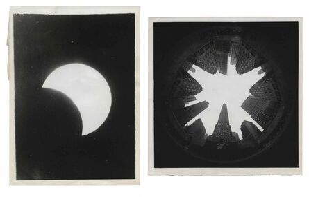 Murray Moss, 'TQ 47/48: First Solar Eclipse/Picture in the Round', 1929/NA