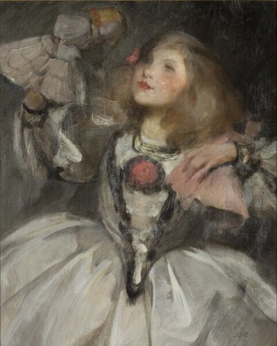 James Jebusa Shannon, 'The Doll', Late 19th century