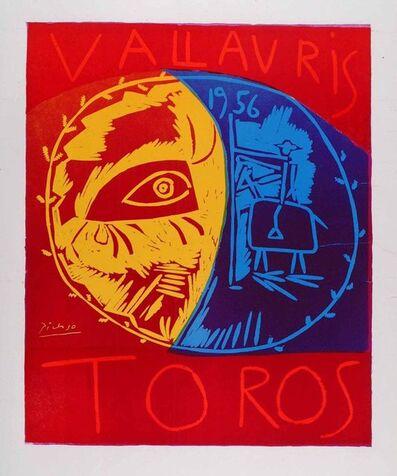 Pablo Picasso, 'Vallauris 1956 Toros', 1956