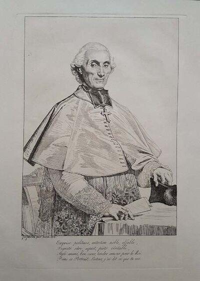 Jean-Auguste-Dominique Ingres, 'Portrait of Gabriel Cortois de Pressigny', 1816