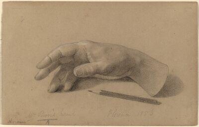 Hiram Powers, 'Study of a Hand', 1856