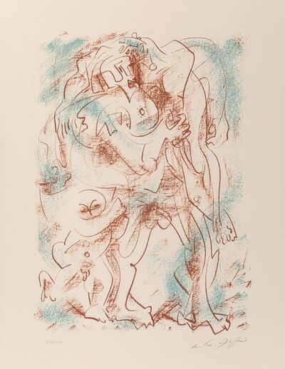 André Masson, 'Untitled, from the Flight Portfolio', 1970