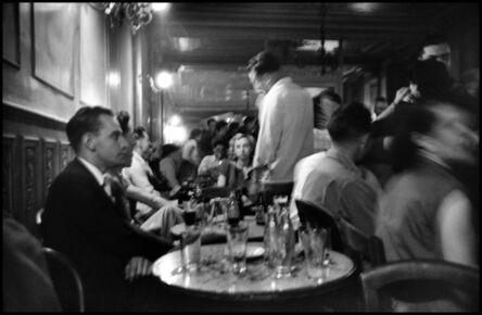 Elliott Erwitt, 'Left Bank cafe.  Paris, France. ', 1951