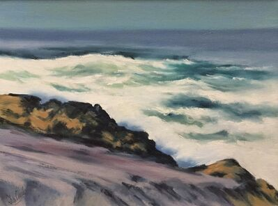 Charles De Carlo, 'Rocks and Surf, Monhegan, Maine', ca. 1960