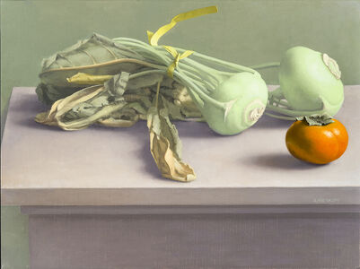 Amy Weiskopf, 'Still Life with Kohlrabi and Persimmon', 2014