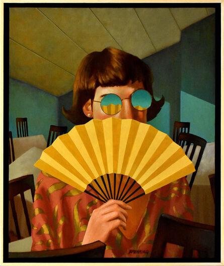 Rob Browning, 'Yellow Fan', 2400