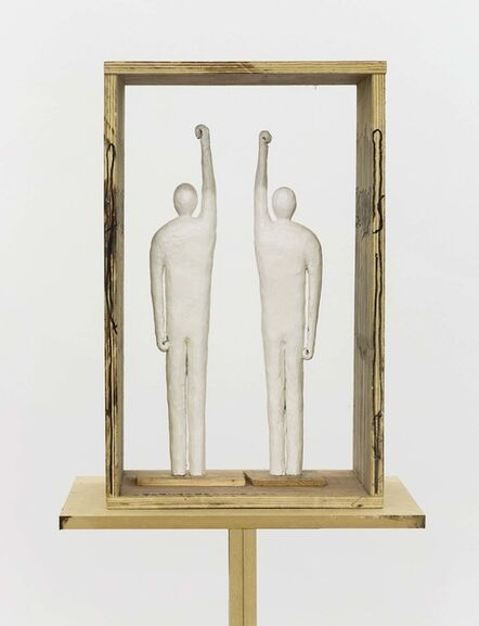 Wang Luyan 王鲁炎, 'Persons Lifting Their Right Arms or/and Left Arms', 2018