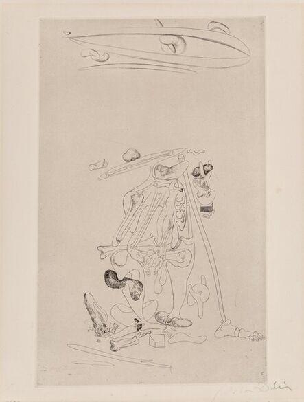 Salvador Dalí, 'Untitled, from Les Chants de Maldoror', 1934