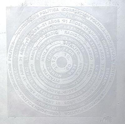 William Bahos, 'Blanco de Plomo', 2021
