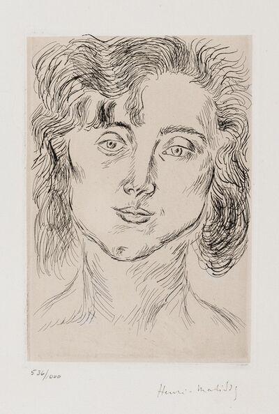 Henri Matisse, 'Cinquante Dessins. Mlle M.M. (Duthuit Books 2)', 1920