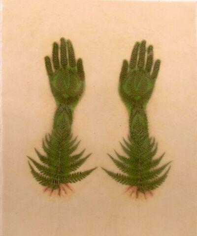 Valerie Hammond, 'Sadie Hands - Double Leaves 2004', 2004