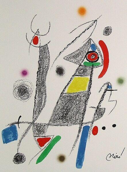 Joan Miró, 'Maravillas con variaciones acrósticas en el jardín de Miró VI', 1975
