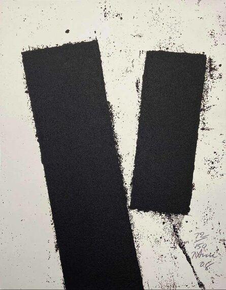 Richard Serra, 'Promenade Notebook Drawing for Obama from the Artist for Obama Portfolio', 2008