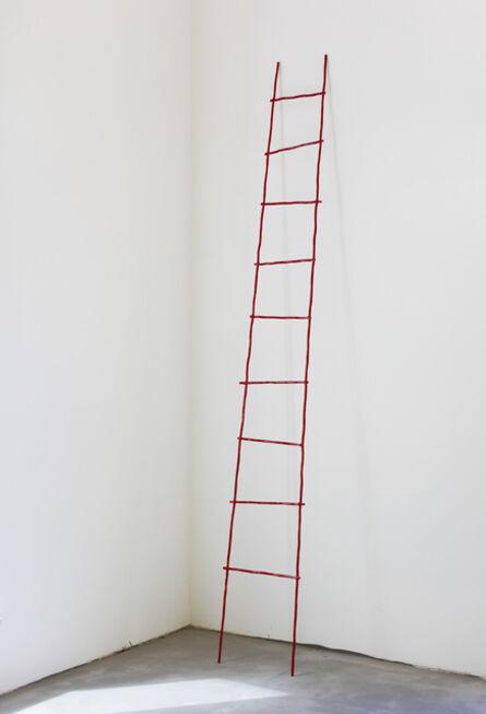 Su-Mei Tse 謝素梅, 'Rote Leiter (The Scale)', 2014
