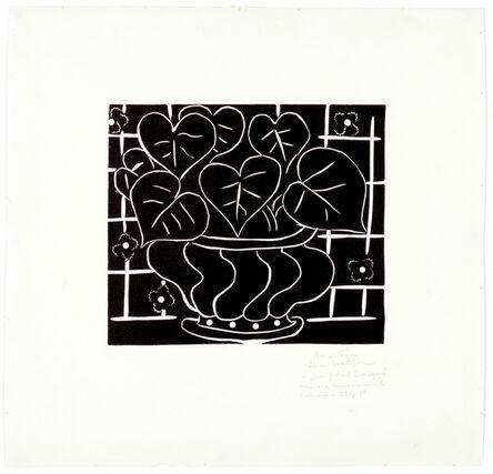 Henri Matisse, 'Corbeille de bégonias I', 1938