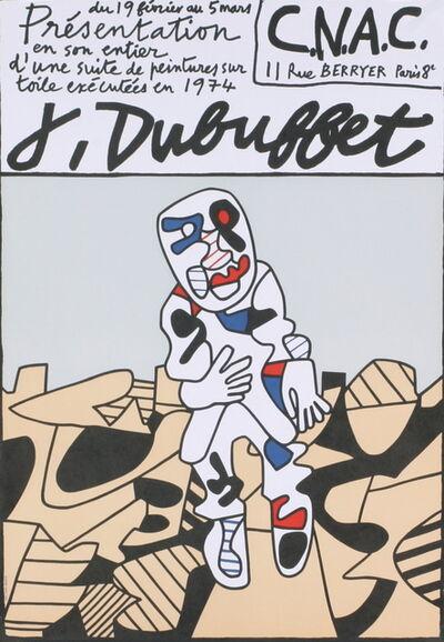 Jean Dubuffet, 'CNAC', 1974