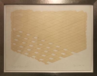 Sean Scully, 'Diagonal Series no. 3', 1973