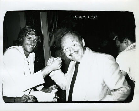 Andy Warhol, 'Andy Warhol, Photograph of Bjorn Borg and Lester Persky, 1982', 1982